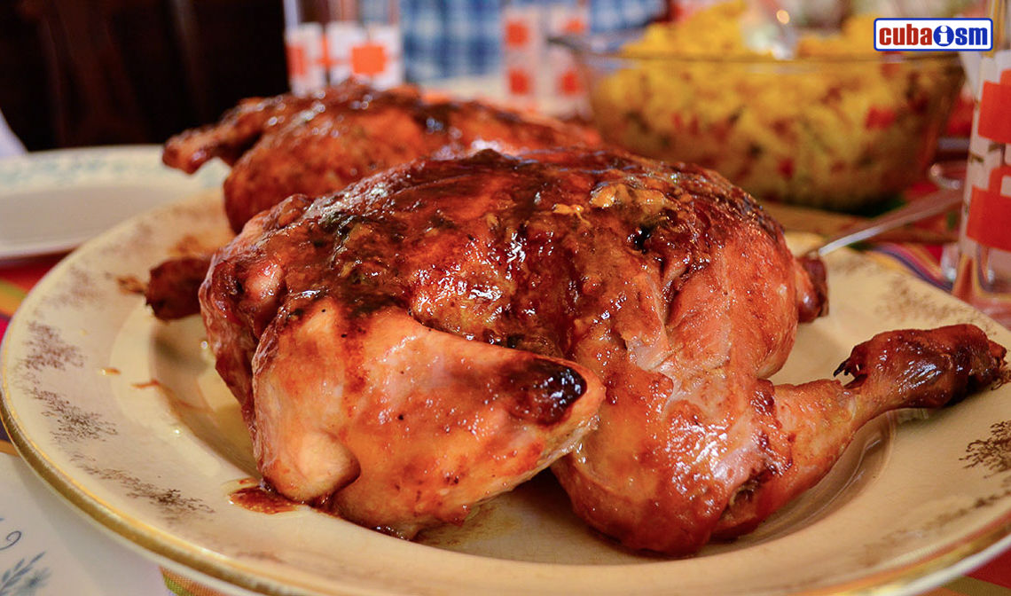 cuba recipes. org - Roasted Chicken