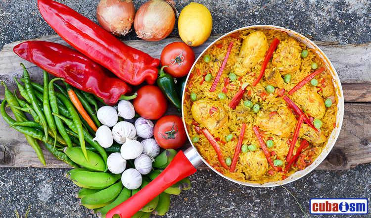 cuba recipes .org - Arroz con pollo a la Chorrera