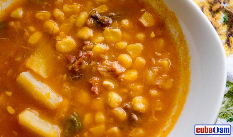 cuba recipes.org - Cuban Corn Stew recipe