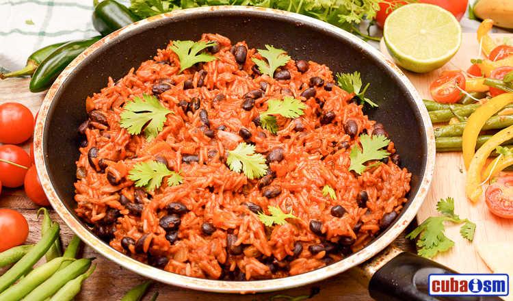 cuba recipes .org - Moros y Cristianos recipe - Cuban Black Beans and Rice